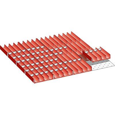 Lista Schubladeneinteilungsmaterial-Set - Mulden, für Fronthöhe 50 mm