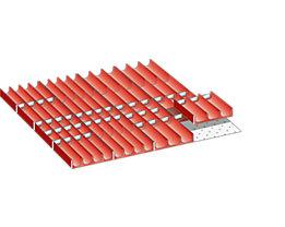Lista Schubladeneinteilungsmaterial-Set - Mulden, für Fronthöhe 50 mm, 66-teilig