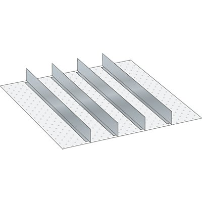 Lista Schubladeneinteilungsmaterial-Set - 4 Trennwände