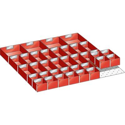 Lista Schubladeneinteilungsmaterial-Set - 36 Einsatzkästen
