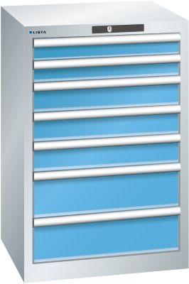 Lista Schubladenschrank, 7 Schubladen - BxTxH 564 x 572 x 850 mm