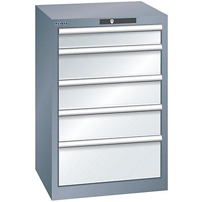 Lista Schubladenschrank, 5 Schubladen - BxTxH 564 x 572 x 850 mm