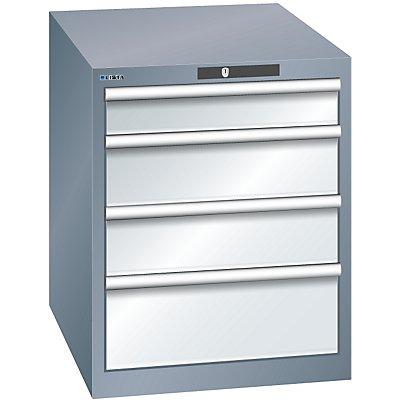 Lista Schubladenschrank, 4 Schubladen - BxTxH 564 x 724 x 700 mm