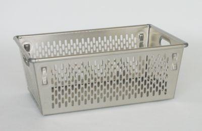 ZARGES Transportkorb aus Aluminium - Inhalt 89 l - konische Bauform
