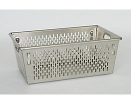 ZARGES Transportkorb aus Aluminium - Inhalt 89 l