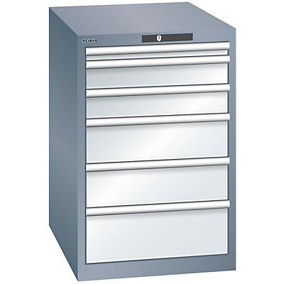 Lista Schubladenschrank, 6 Schubladen - BxTxH 564 x 724 x 850 mm