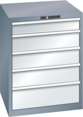 Lista Schubladenschrank, 5 Schubladen - BxTxH 717 x 725 x 850 mm