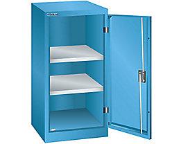 Lista Flügeltürenschrank, 2 Fachböden - Breite 500 mm, lichtblau