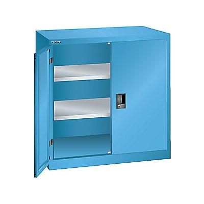 Lista Flügeltürenschrank, 2 Fachböden - Breite 1000 mm, lichtblau