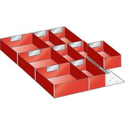 Lista Schubladeneinteilungsset für Schublade - Breite 500 mm