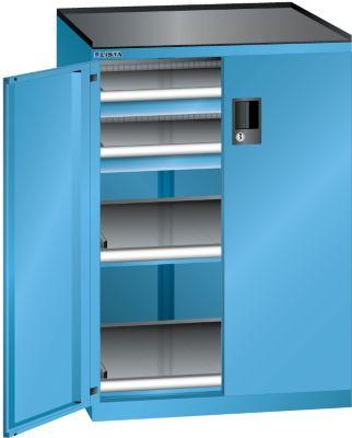 Lista Schubladenschrank - Höhe 1020 mm, 2 Böden, 2 Schubladen, Traglast 200 kg