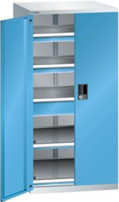 Lista Schubladenschrank - Höhe 1450 mm, 2 Böden, 3 Schubladen, Traglast 75 kg