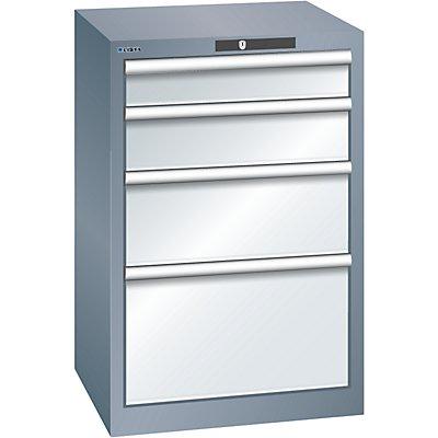 Lista Schubladenschrank, 4 Schubladen - BxTxH 564 x 572 x 850 mm