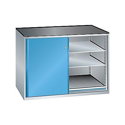 Lista Schiebetürenschrank, Traglast Auszugboden 200 kg - 4 Verstellböden, 2 Auszugböden