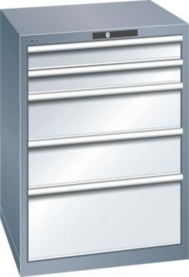 Lista Schubladenschrank, 5 Schubladen - BxTxH 717 x 725 x 1000 mm