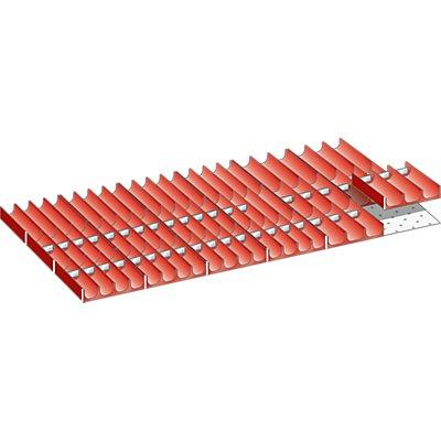 Lista Schubladeneinteilungsset - Mulden, 58-teilig, für Fronthöhe 75 mm