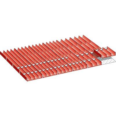 Lista Schubladeneinteilungsset - Mulden, 64-teilig, für Fronthöhe 50 mm