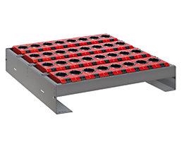 Lista Werkzeughalter für Schublade - BxTxH 588 x 596 x 82 - 162 mm, 24 Halter