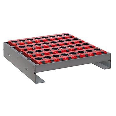 Lista Werkzeughalter für Schublade - BxTxH 588 x 596 x 82 - 162 mm, 20 Halter