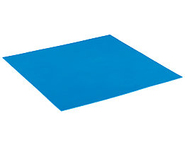 Lista Schaumstoffunterlage für Schublade - blau, BxT 600 x 447 mm