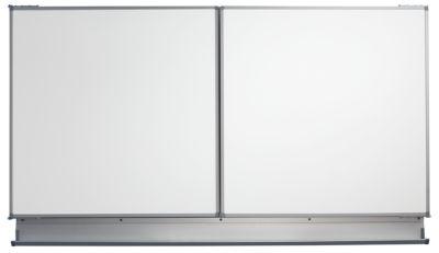 QUIPO Wandtafel - BxH geöffnet 4000 x 1000 mm  - Grundtafelbreite 2000 mm