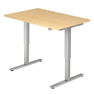 Hammerbacher UPLINER Schreibtisch, elektrisch höhenverstellbar - BxT 1200 x 800 mm