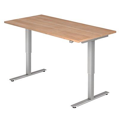 UPLINER Schreibtisch, elektrisch höhenverstellbar - BxT 1800 x 800 mm