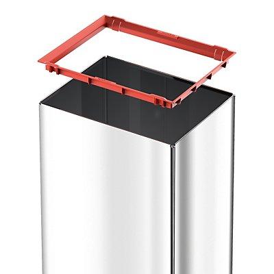 Hailo Schwingdeckel-Abfallbox - HxBxT 500 x 340 x 260 mm, 40 l