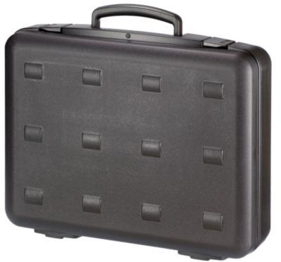 Kunststoffkoffer aus PP, doppelwandig - Typ M2000, schwarz