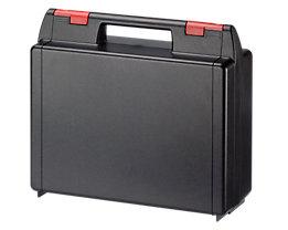 ABS-Kunststoffkoffer - Typ 0,5 – 111, VE 4 Stk - schwarz