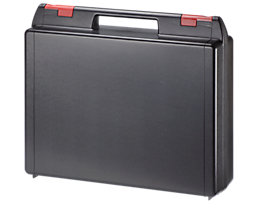 ABS-Kunststoffkoffer - Typ 2 – 122, VE 3 Stk - schwarz