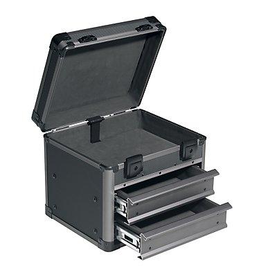 allit Service- und Montagekoffer - LxBxH 306 x 275 x 305 mm - anthrazit