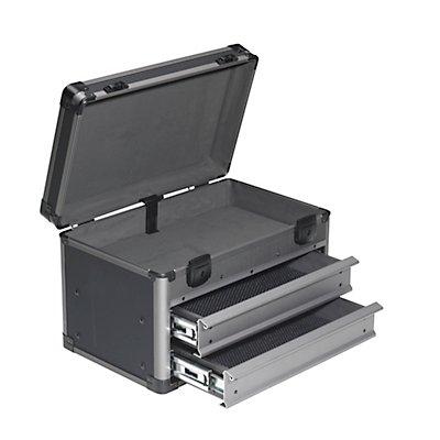 Service- und Montagekoffer - LxBxH 415 x 275 x 305 mm - anthrazit