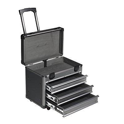 Service- und Montagekoffer - LxBxH 415 x 315 x 430 mm - anthrazit