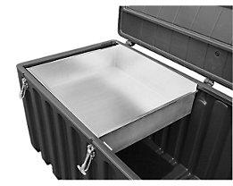 CEMO Einlegeschale - aus Metall, für 750-l-Box