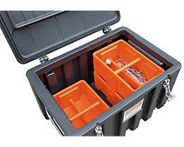 CEMO Einlegeschale - aus Polyethylen, stapelbar, für 150 l und 250-l-Box