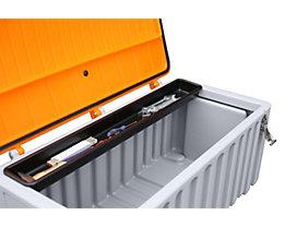 CEMO Einlegeschale - aus Polyethylen, lang, für 250 l und 400-l-Box