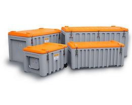 CEMO Malle universelle en polyéthylène - capacité 250 l, charge max. 200 kg