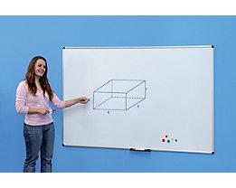 Whiteboard - magnetisch, mit Aluminiumrahmen - BxH 1500 x 1000 mm