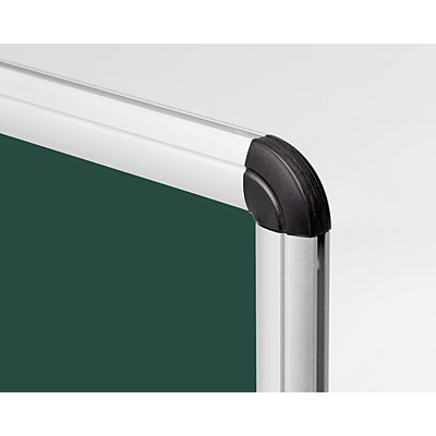Kreidetafel - grün, mit Aluminiumrahmen
