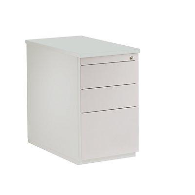 Mauser Schubladencontainer - Höhe 720 mm, Kunststoffplatte, 3 Schubladen