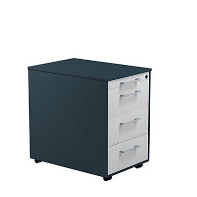 mauser Bürocontainer aus Stahl - HxBxT 570 x 417 x 600 mm, 3 Schubladen