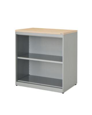mauser Regalschrank - HxBxT 830 x 800 x 432 mm, Kunststoffplatte, 1 Fachboden
