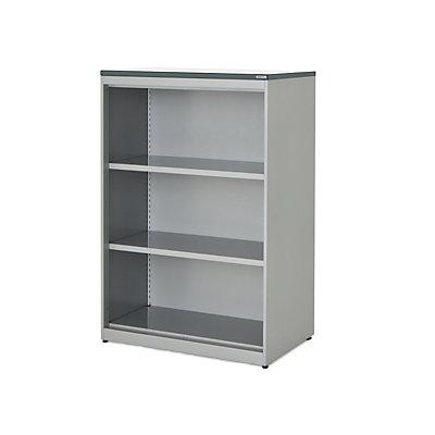 mauser Regalschrank - HxBxT 1180 x 800 x 432 mm, Kunststoffplatte, 2 Fachböden