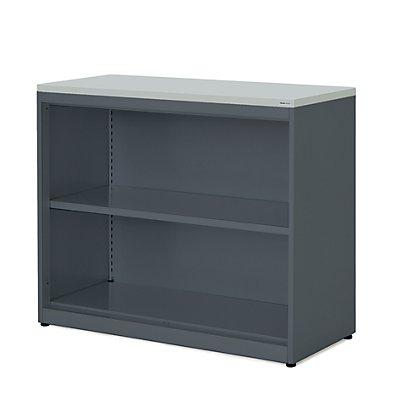mauser Regalschrank - HxBxT 830 x 1000 x 432 mm, Kunststoffplatte, 1 Fachboden