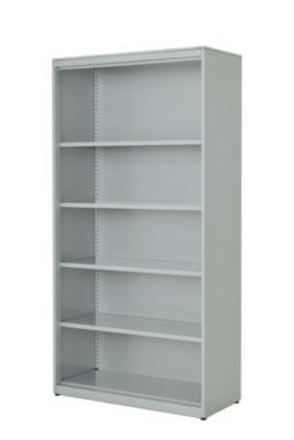 mauser Regalschrank - HxBxT 1956 x 1000 x 432 mm, Stahlplatte, 4 Fachböden