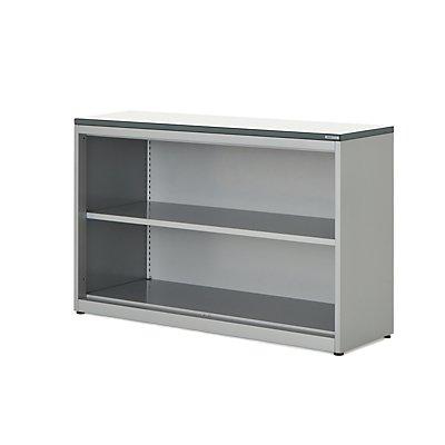 mauser Regalschrank - HxBxT 830 x 1200 x 432 mm, Kunststoffplatte, 1 Fachboden