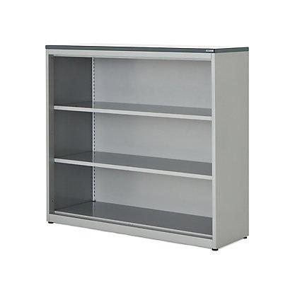 mauser Regalschrank - HxBxT 1180 x 1200 x 432 mm, Kunststoffplatte, 2 Fachböden