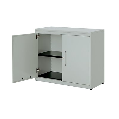 mauser Flügeltürenschrank - HxB 830 x 1000 mm, Kunststoffplatte, 1 Fachboden