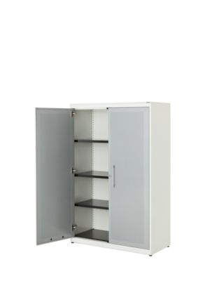 mauser Flügeltürenschrank - HxBxT 1516 x 1000 x 432 mm, 3 Fachböden
